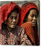 Women Of Nepal - Series Canvas Print