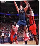 Dallas Mavericks V Houston Rockets Canvas Print
