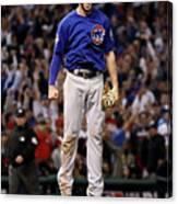 World Series - Chicago Cubs V Cleveland 20 Canvas Print