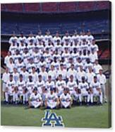 2004 Los Angeles Dodgers Team Photo Canvas Print