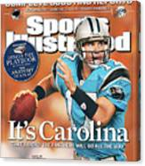 2005 Nfl Football Preview Issue Sports Illustrated Cover Canvas Print