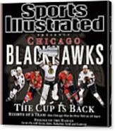 2010 Stanley Cup Finals Sports Illustrated Cover Canvas Print