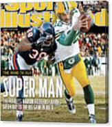 2011 Nfc Championship Green Bay Packers V Chicago Bears Sports Illustrated Cover Canvas Print