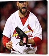2011 World Series Game 7 - Texas 2011 Canvas Print