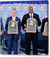 2014 Baseball Hall Of Fame Induction Canvas Print