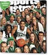 2014 March Madness College Basketball Preview Part II Sports Illustrated Cover Canvas Print