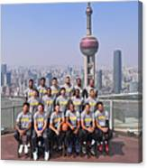 2017 Nba Global Games - China Canvas Print