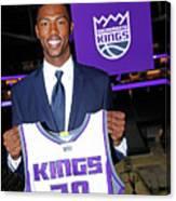 2017 Sacramento Kings Draft Picks Canvas Print