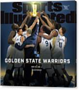2018 Sportsperson Of The Year Golden State Warriors Sports Illustrated Cover Canvas Print