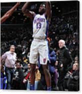 Detroit Pistons V Brooklyn Nets Canvas Print