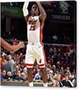 Miami Heat V Cleveland Cavaliers Canvas Print