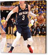 New Orleans Pelicans V Golden State Canvas Print