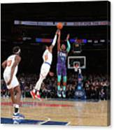 Charlotte Hornets V New York Knicks Canvas Print