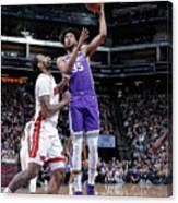 Miami Heat V Sacramento Kings Canvas Print