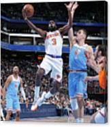 New York Knicks V Sacramento Kings Canvas Print