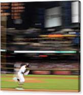San Diego Padres V Arizona Diamondbacks Canvas Print