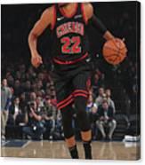 Chicago Bulls V New York Knicks Canvas Print