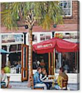 2nd Sunday Lunch On King St. Canvas Print