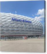 Allianz Arena Munich  Canvas Print