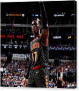 Atlanta Hawks V Dallas Mavericks Canvas Print