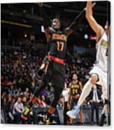 Atlanta Hawks V Denver Nuggets Canvas Print