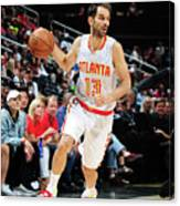 Charlotte Hornets V Atlanta Hawks Canvas Print