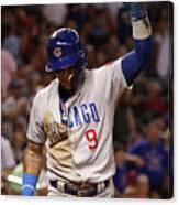 Chicago Cubs V Arizona Diamondbacks Canvas Print