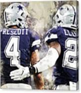 Dallas Cowboys Canvas Print