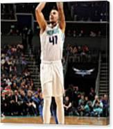 Dallas Mavericks V Charlotte Hornets Canvas Print