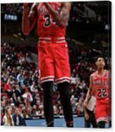 Denver Nuggets V Chicago Bulls Canvas Print