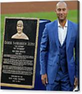 Derek Jeter Ceremony Canvas Print