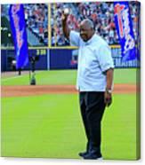 Detroit Tigers V Atlanta Braves 3 Canvas Print