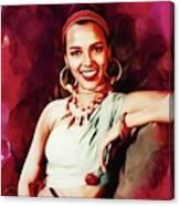 Dorothy Dandridge, Hollywood Legend Canvas Print