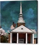 First Baptist Church North Myrtle Beach S C Canvas Print