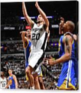 Golden State Warriors V San Antonio Canvas Print