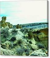 High Desert Landscape Canvas Print
