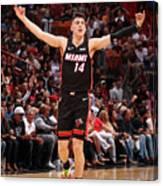 Houston Rockets V Miami Heat Canvas Print