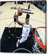 Houston Rockets V San Antonio Spurs Canvas Print