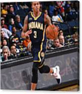 Indiana Pacers V Golden State Warriors Canvas Print