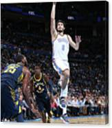 Indiana Pacers V Oklahoma City Thunder Canvas Print