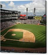 Kansas City Royals V Chicago White Sox Canvas Print