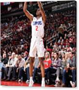 La Clippers V Houston Rockets Canvas Print