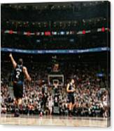 La Clippers V Toronto Raptors Canvas Print