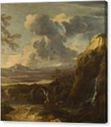 Landscape With Tobias And The Angel  Canvas Print