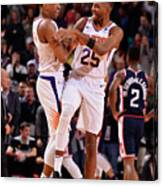Los Angeles Clippers V Phoenix Suns Canvas Print