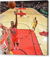 Los Angeles Lakers V Chicago Bulls Canvas Print