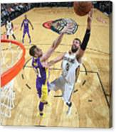 Los Angeles Lakers V New Orleans Canvas Print
