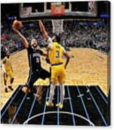 Los Angeles Lakers V Orlando Magic Canvas Print