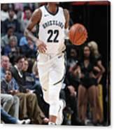 Milwaukee Bucks V Memphis Grizzlies Canvas Print