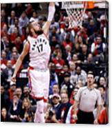 Milwaukee Bucks V Toronto Raptors - Canvas Print